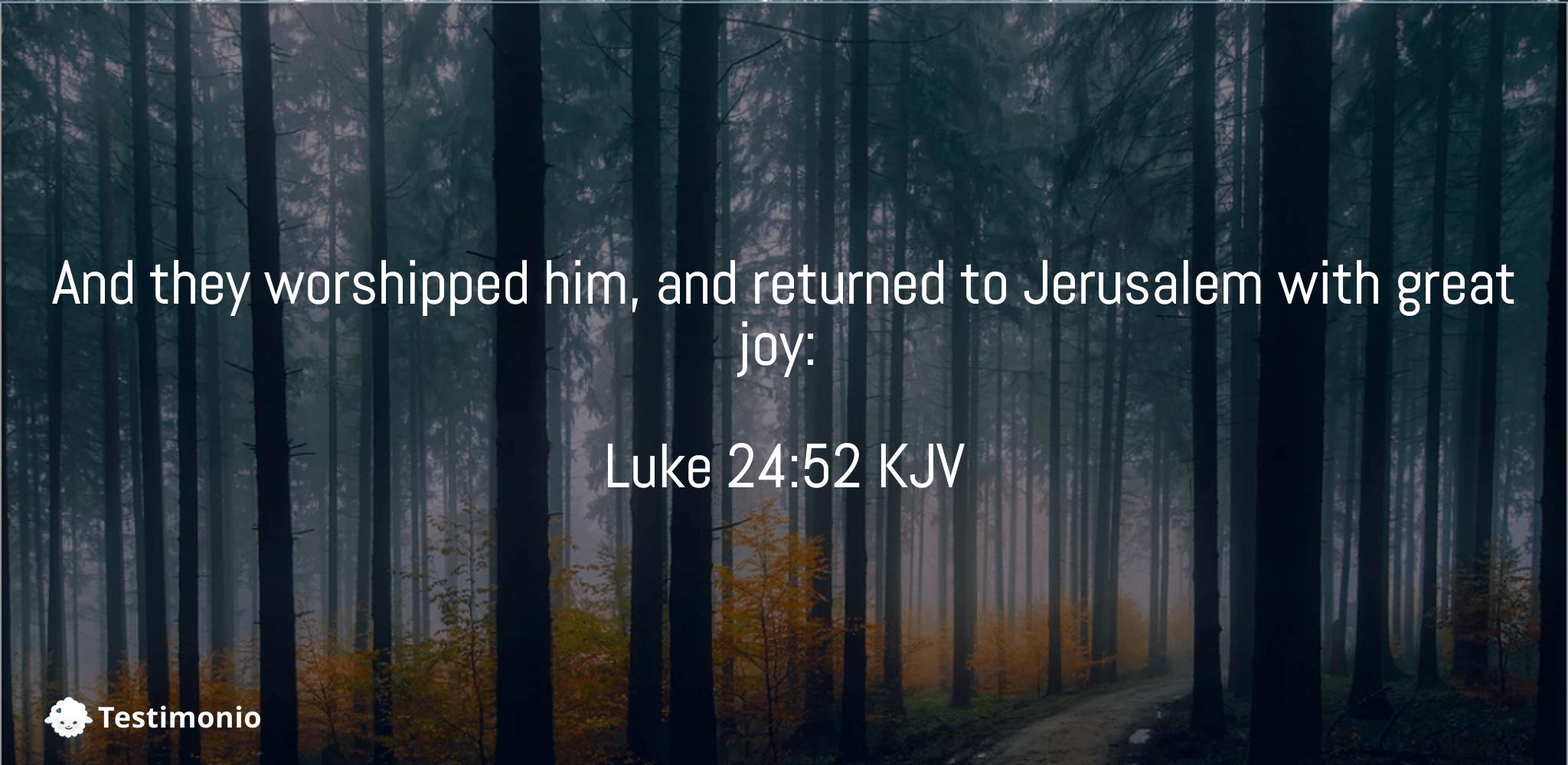 Luke 24:52