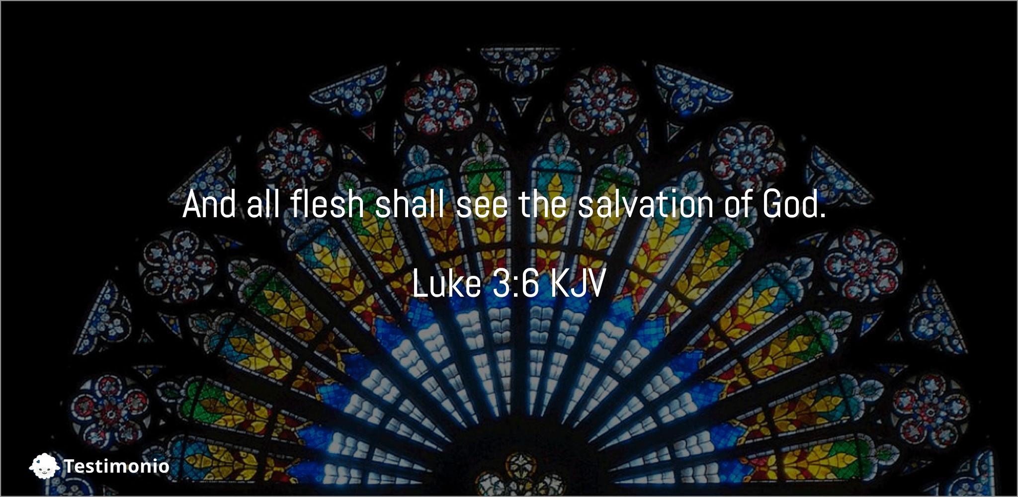 Luke 3:6
