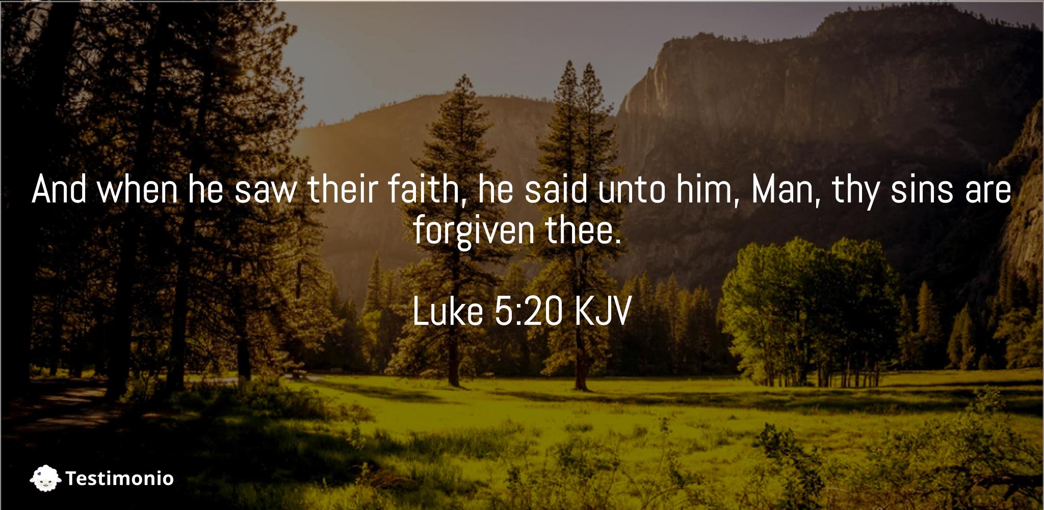 Luke 5:20