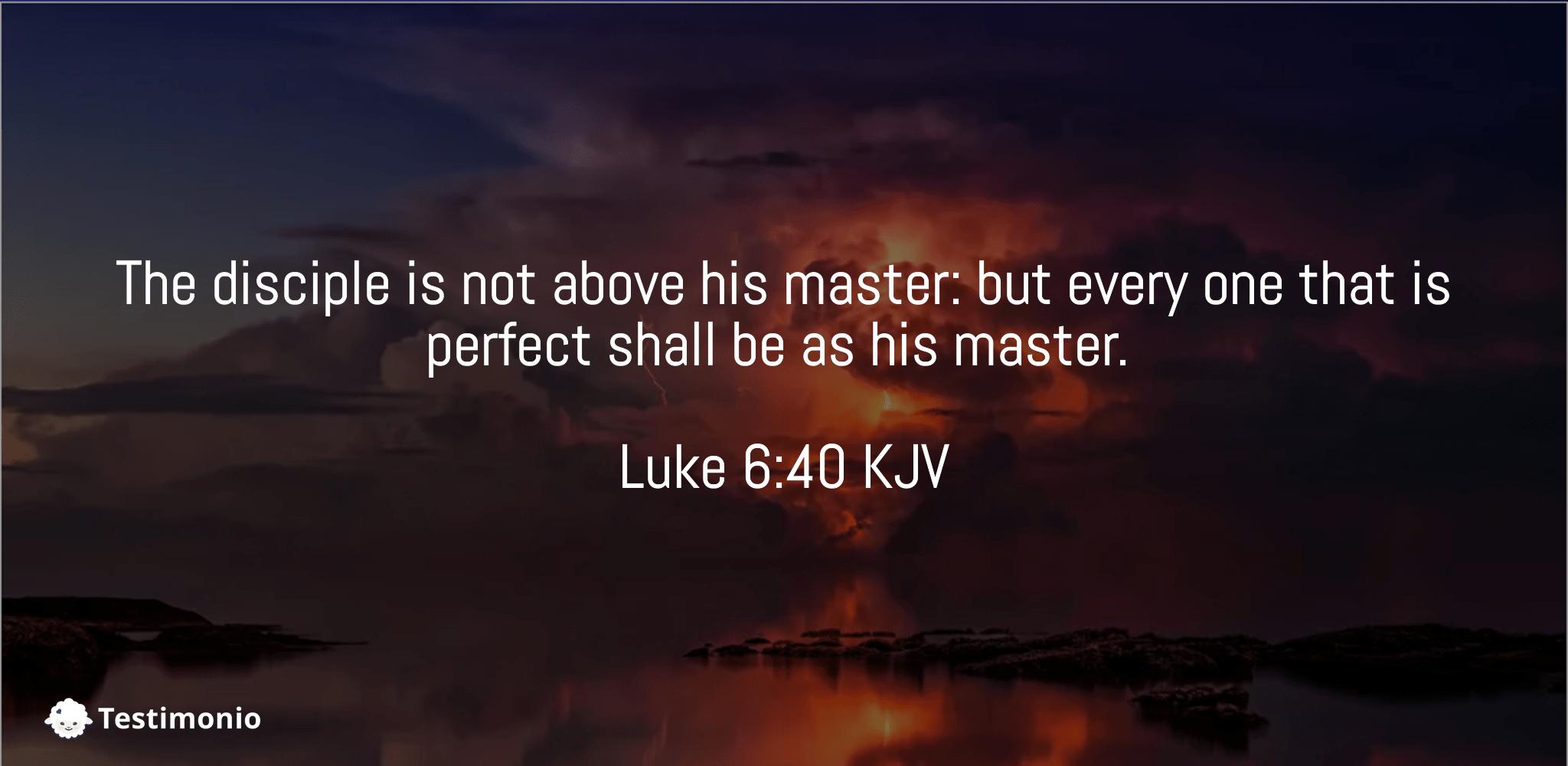 Luke 6:40