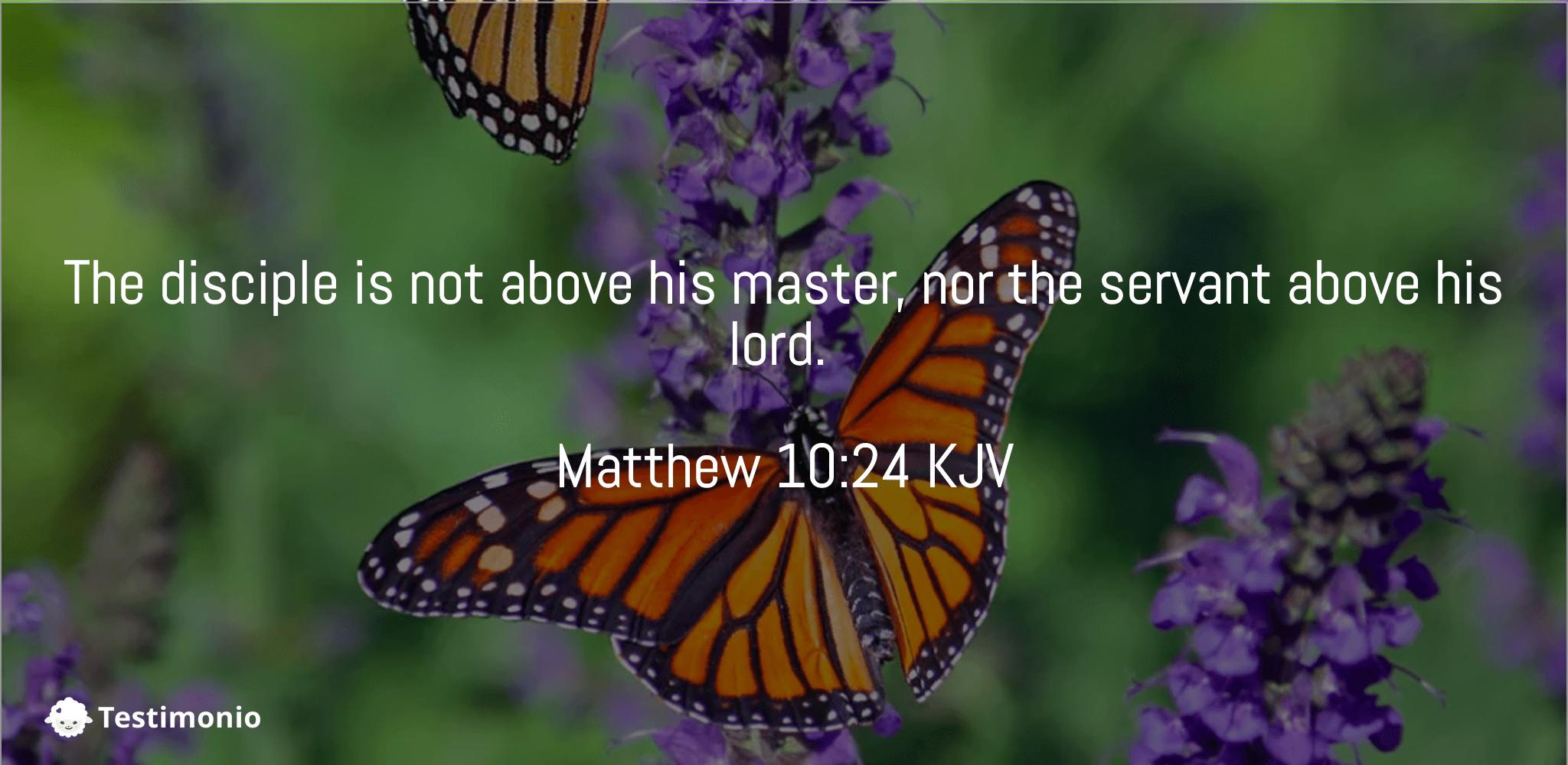 Matthew 10:24