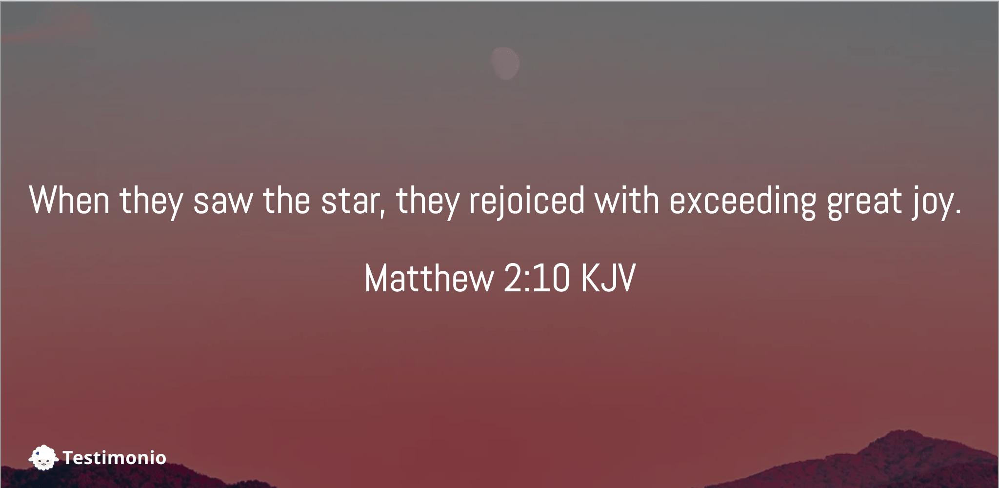 Matthew 2:10