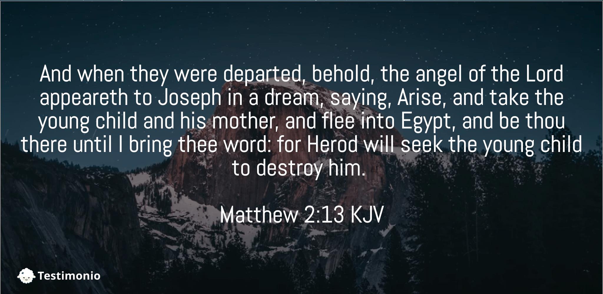 Matthew 2:13