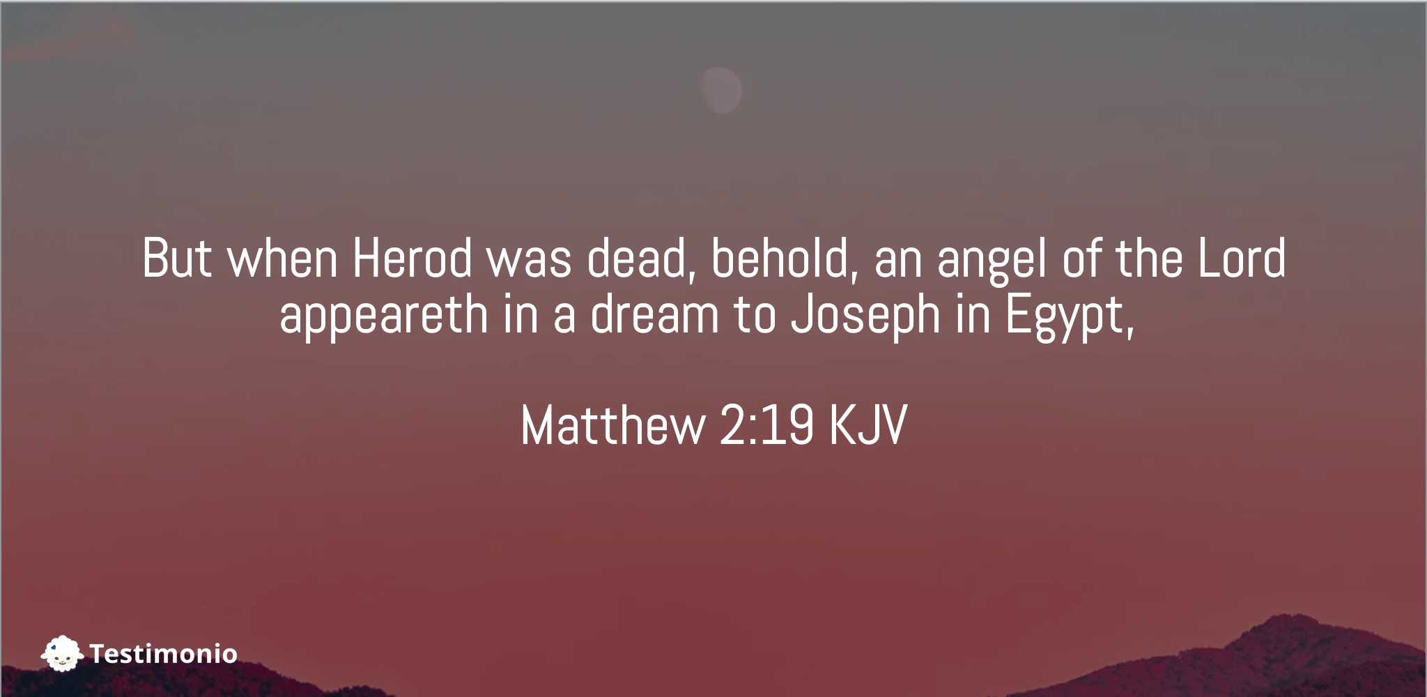 Matthew 2:19