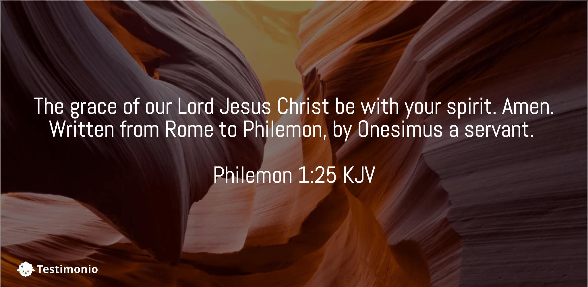 Philemon 1:25