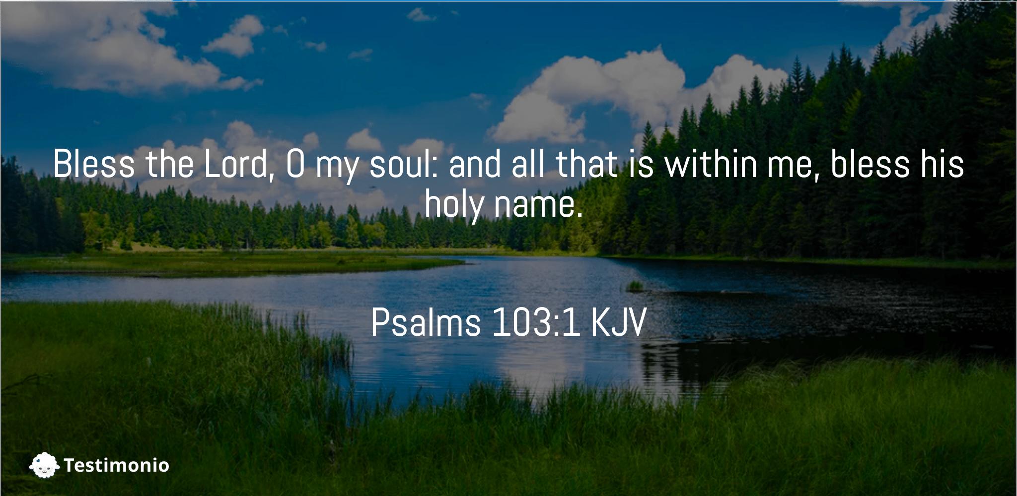 Psalms 103:1