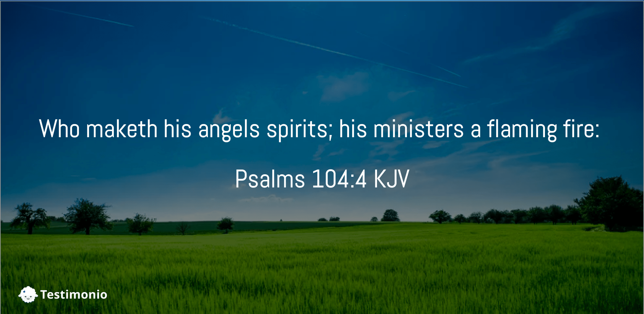 Psalms 104:4