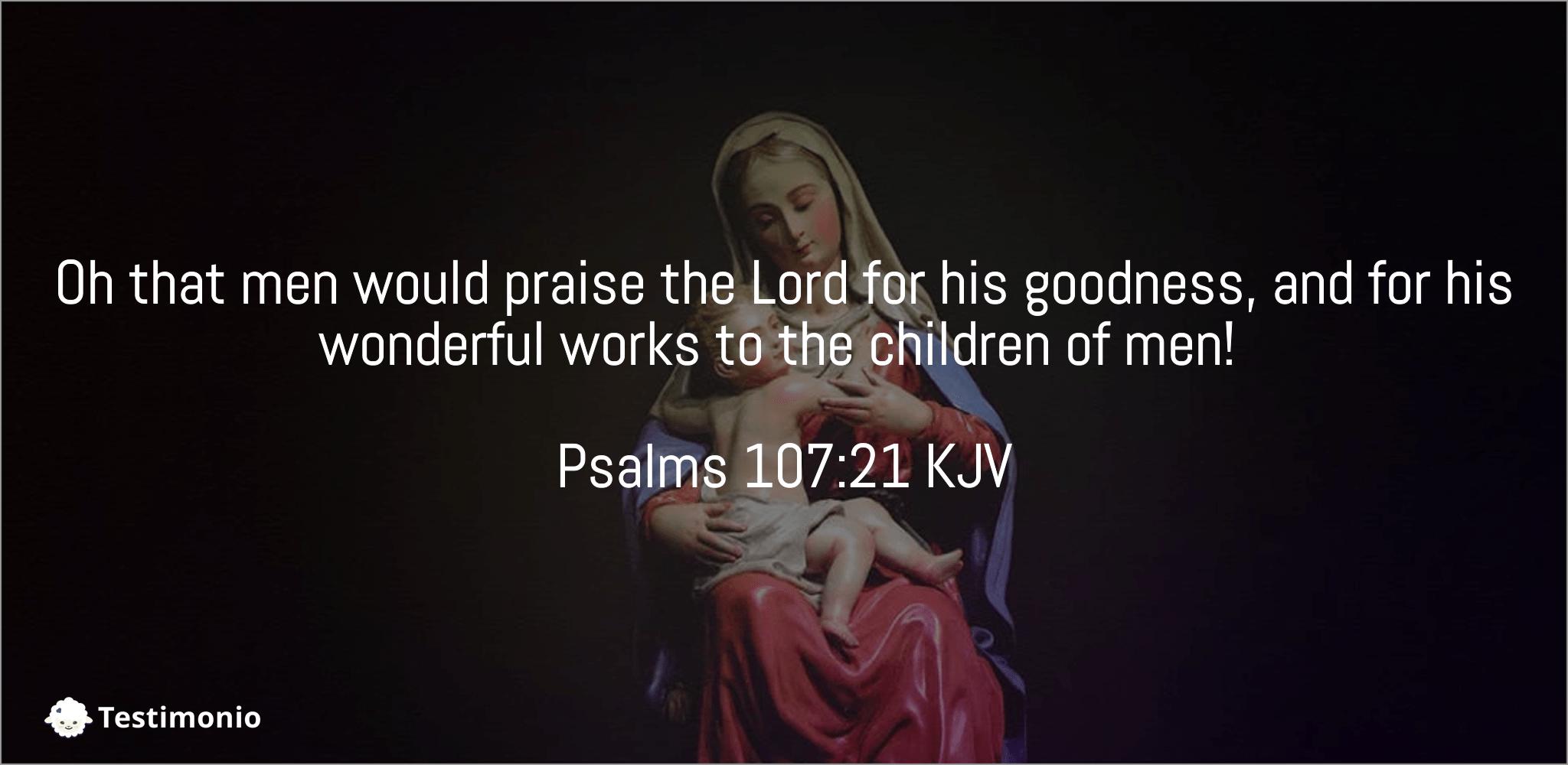 Psalms 107:21
