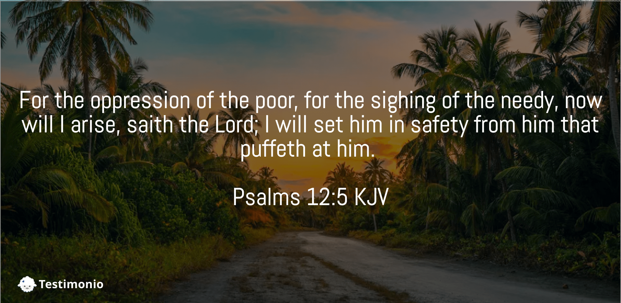 Psalms 12:5