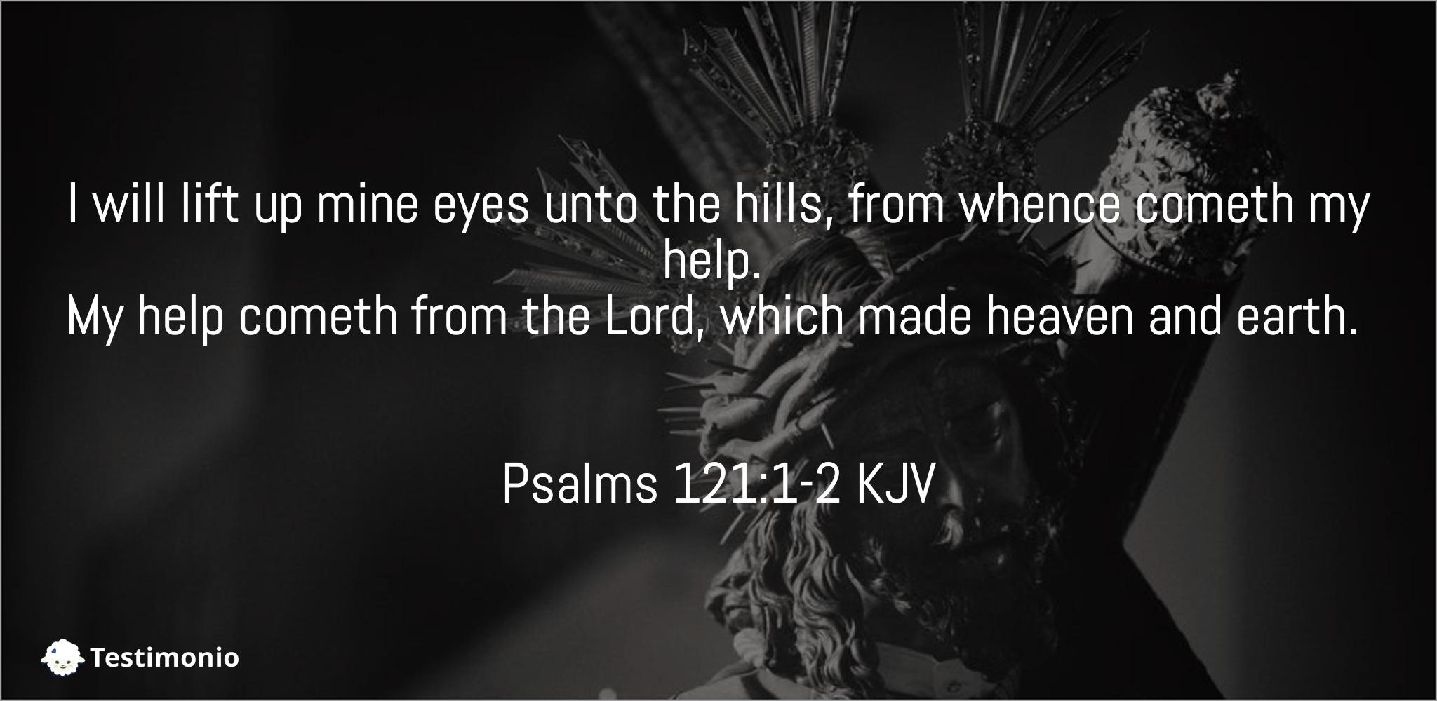 Psalms 121:1-2