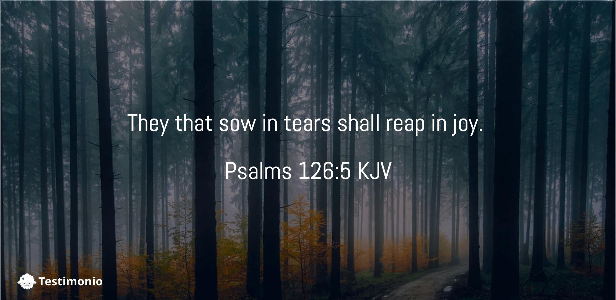 Psalms 126:5
