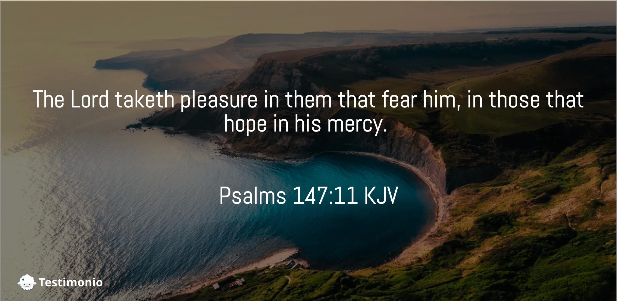 Psalms 147:11