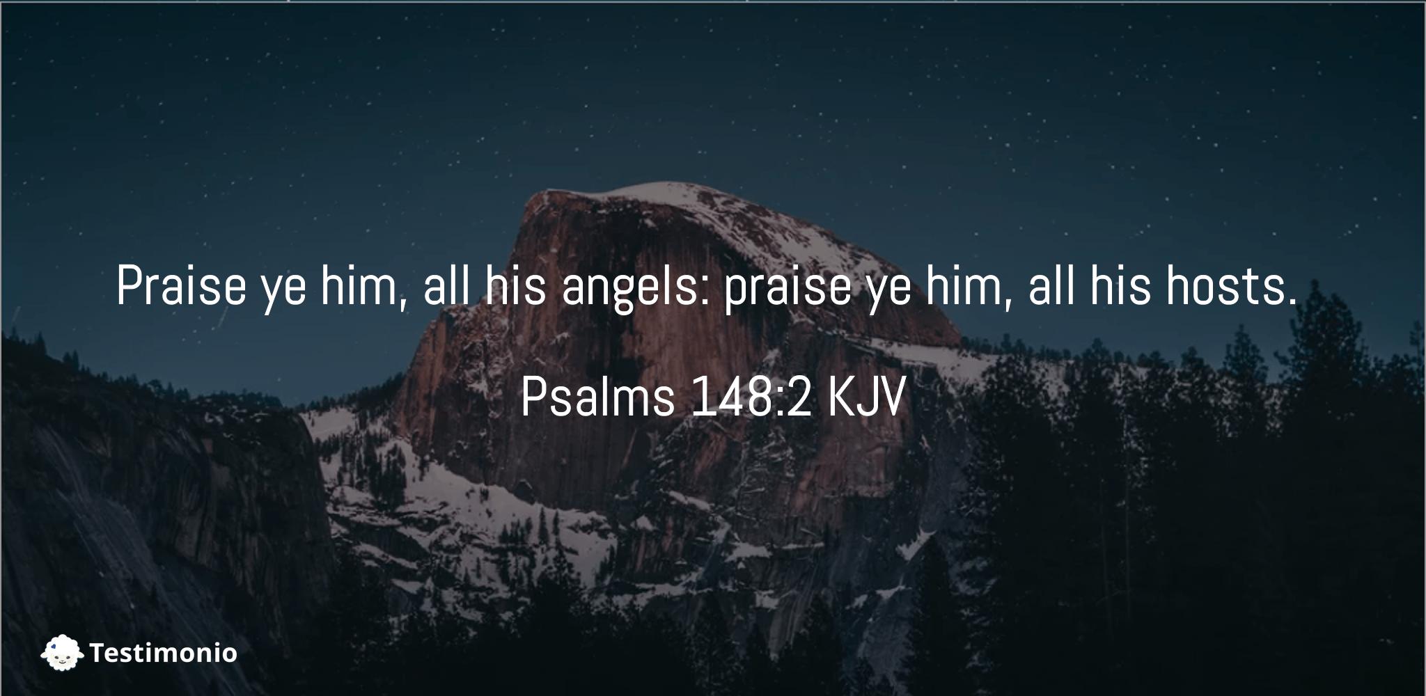Psalms 148:2