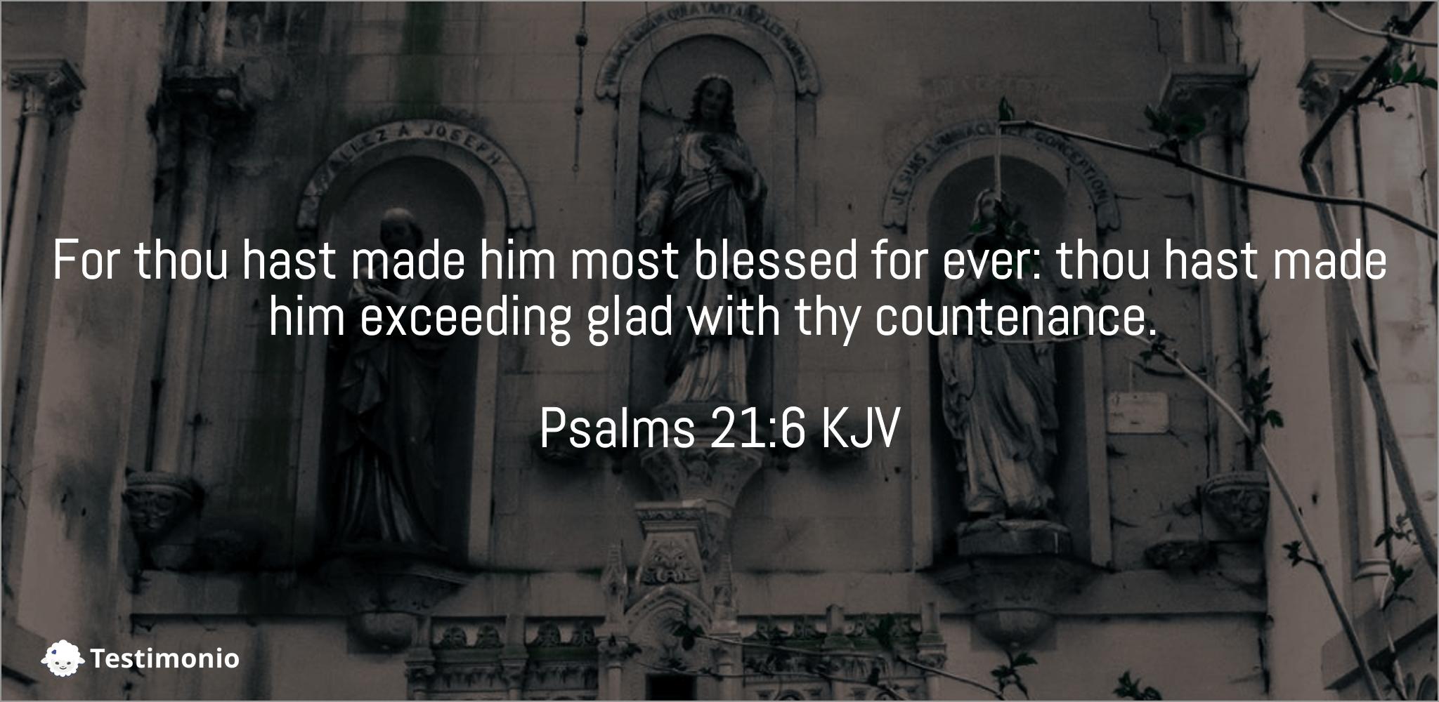 Psalms 21:6