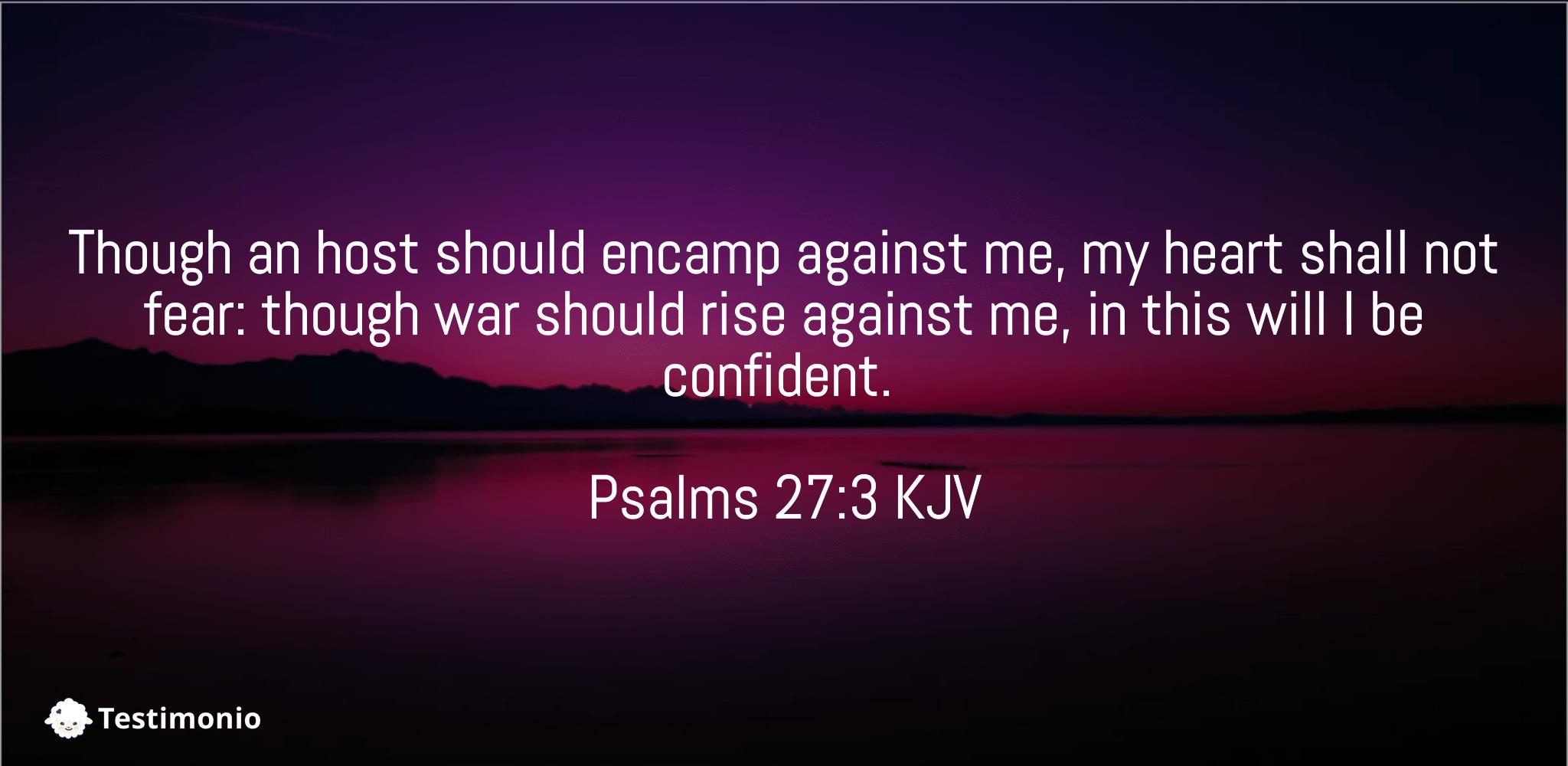 Psalms 27:3
