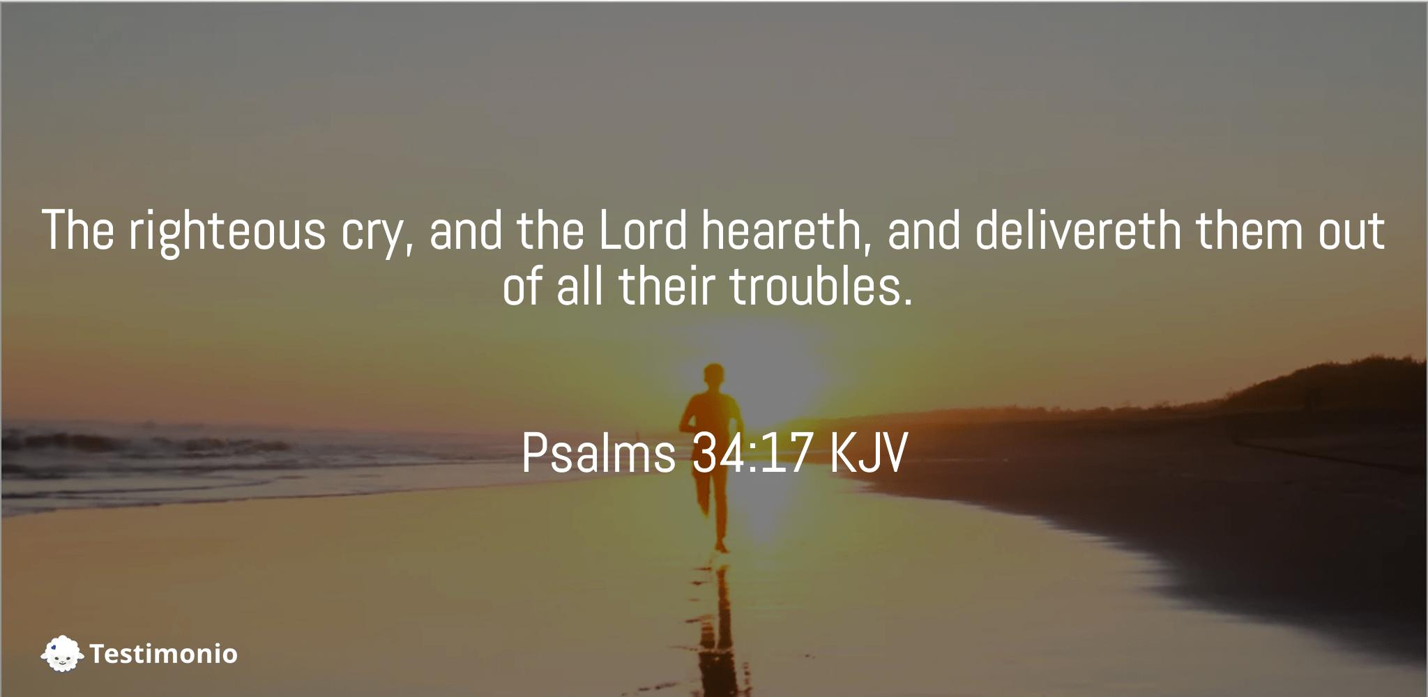 Psalms 34:17