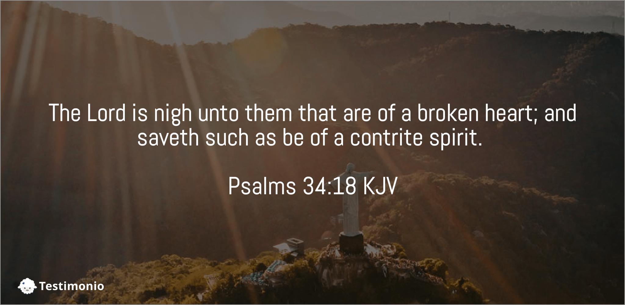 Psalms 34:18