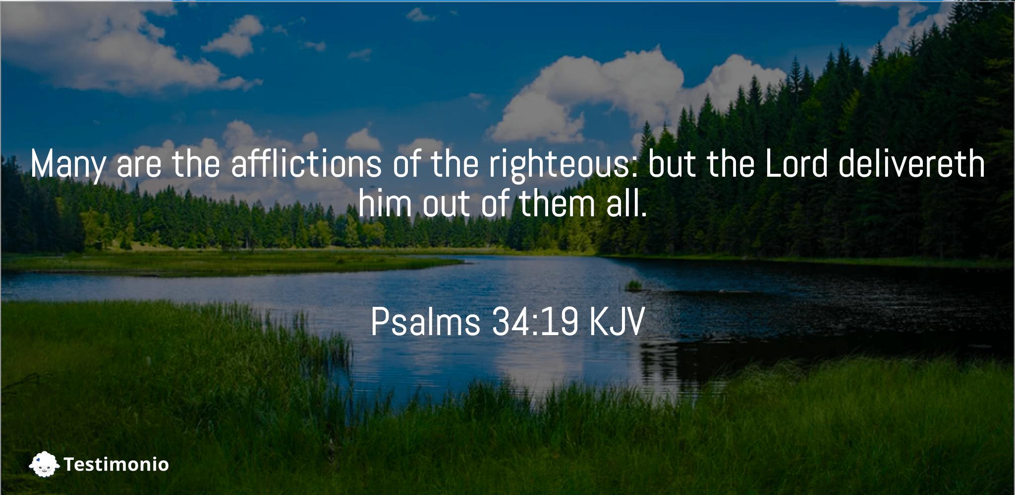Psalms 34:19
