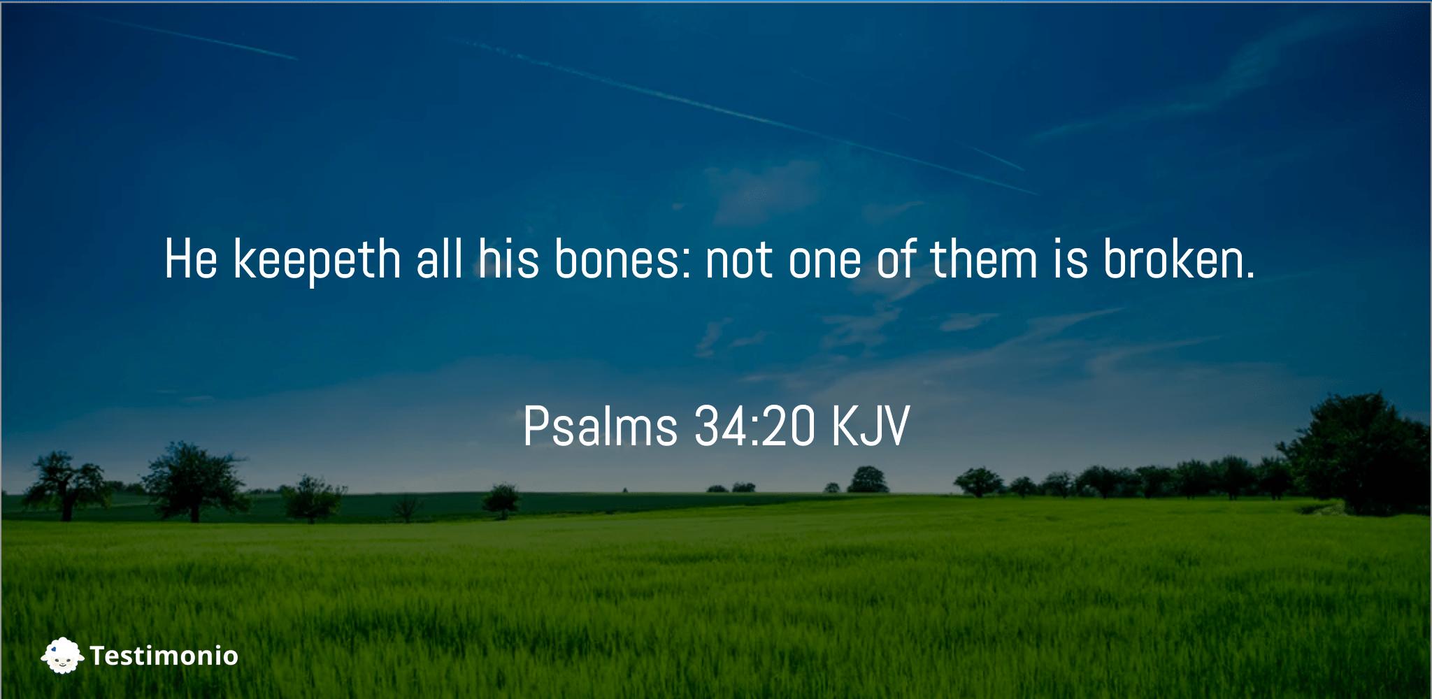 Psalms 34:20