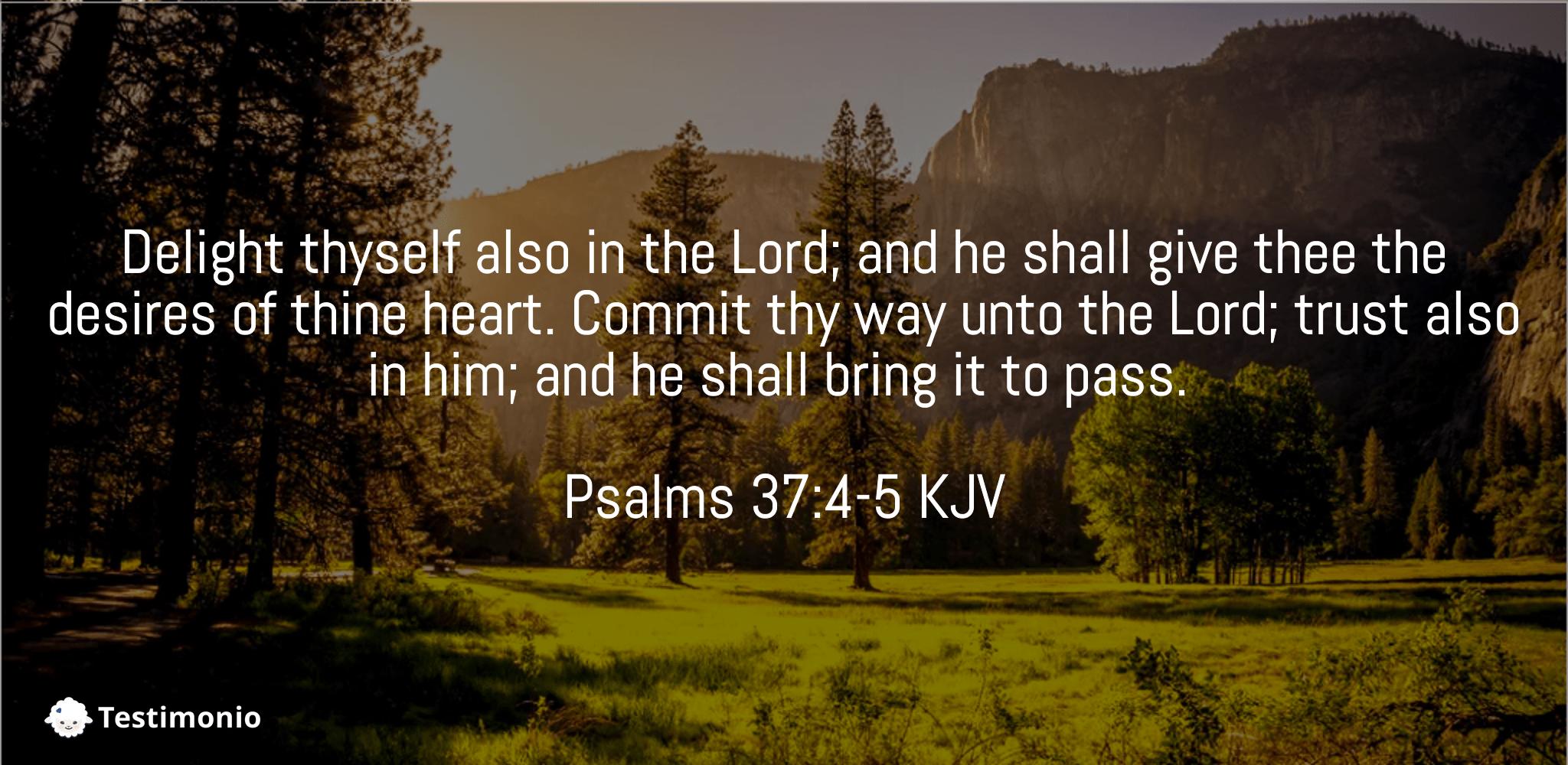Psalms 37:4-5