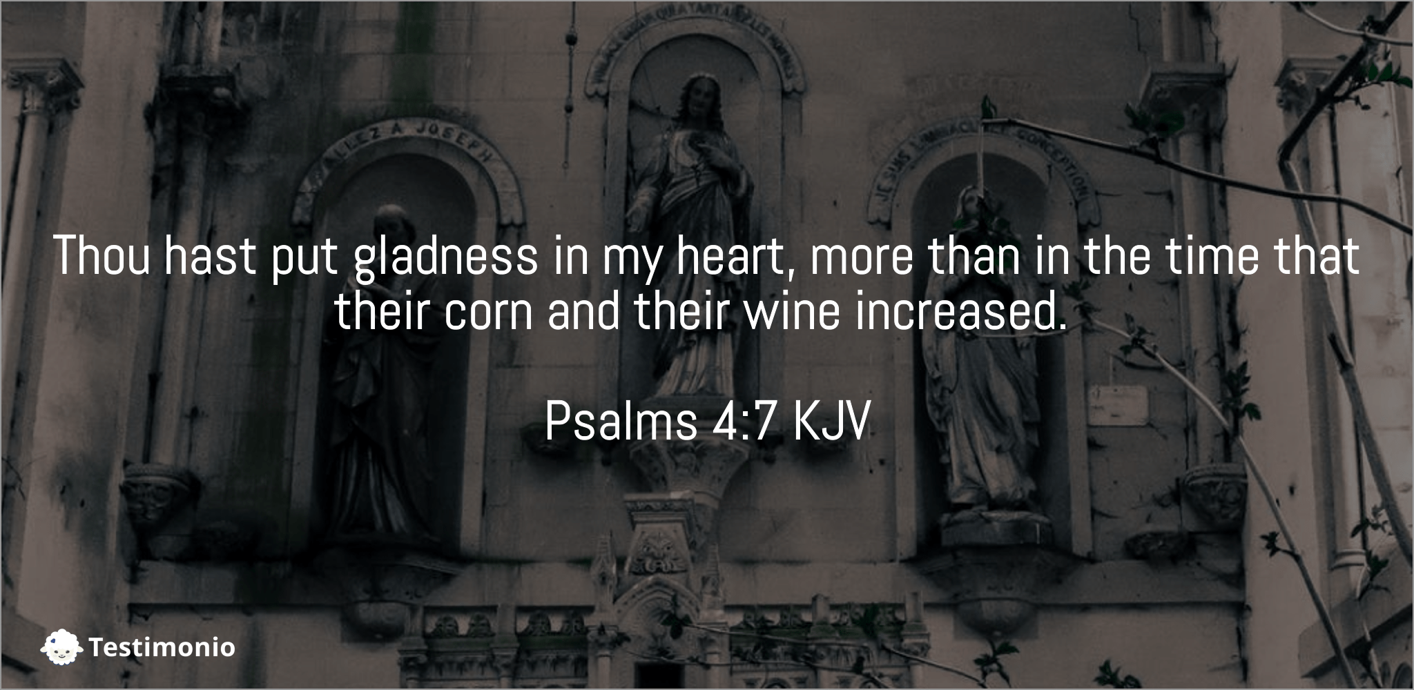 Psalms 4:7