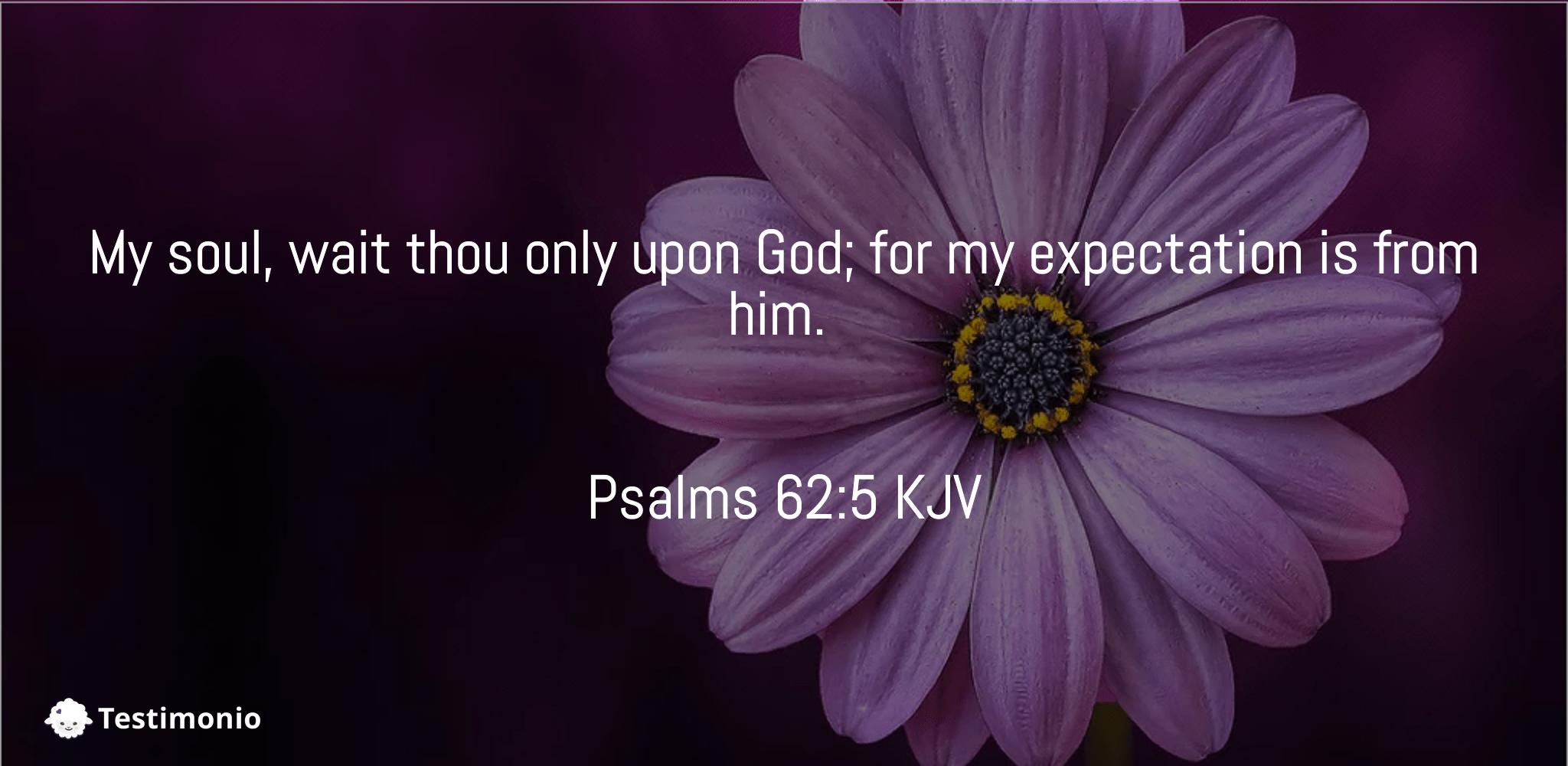Psalms 62:5