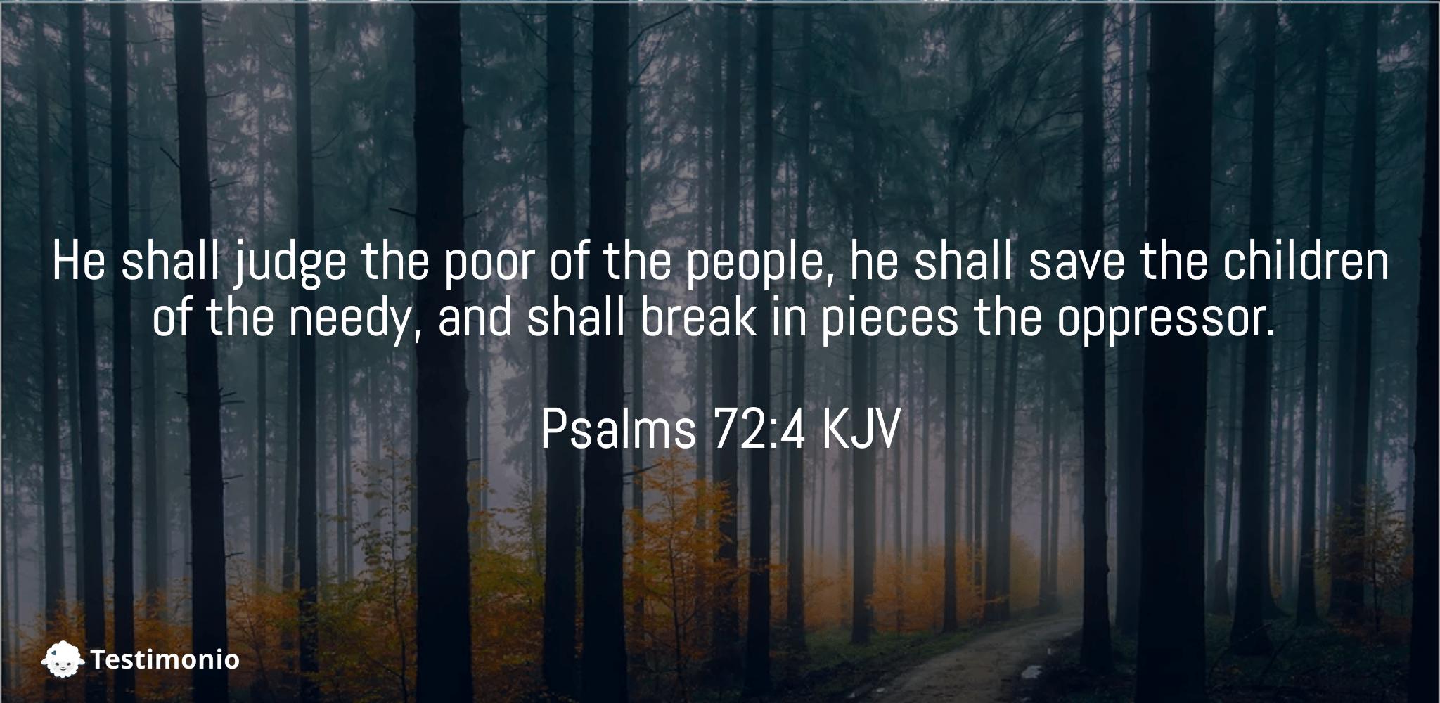 Psalms 72:4