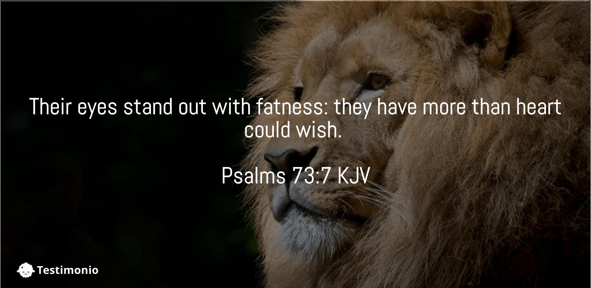 Psalms 73:7
