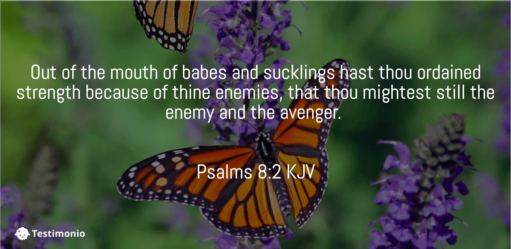 Psalms 8:2