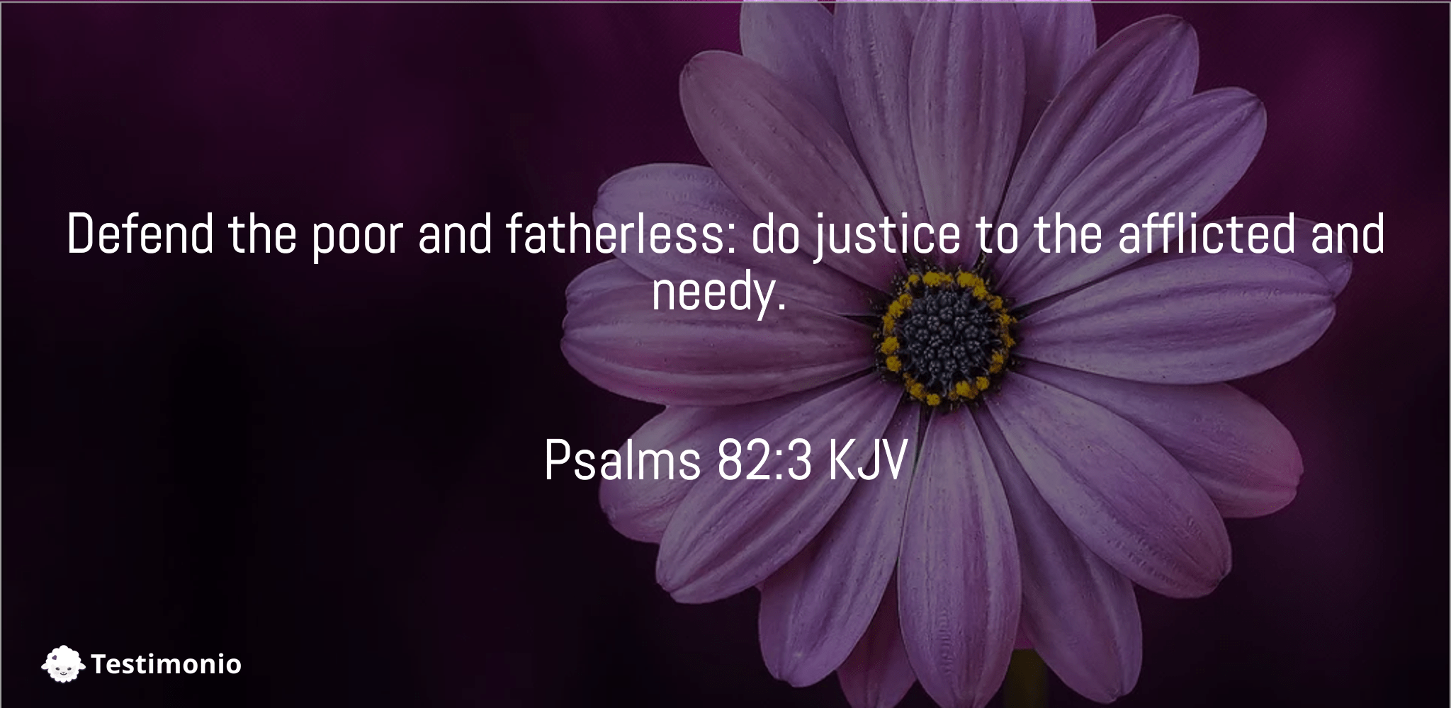 Psalms 82:3