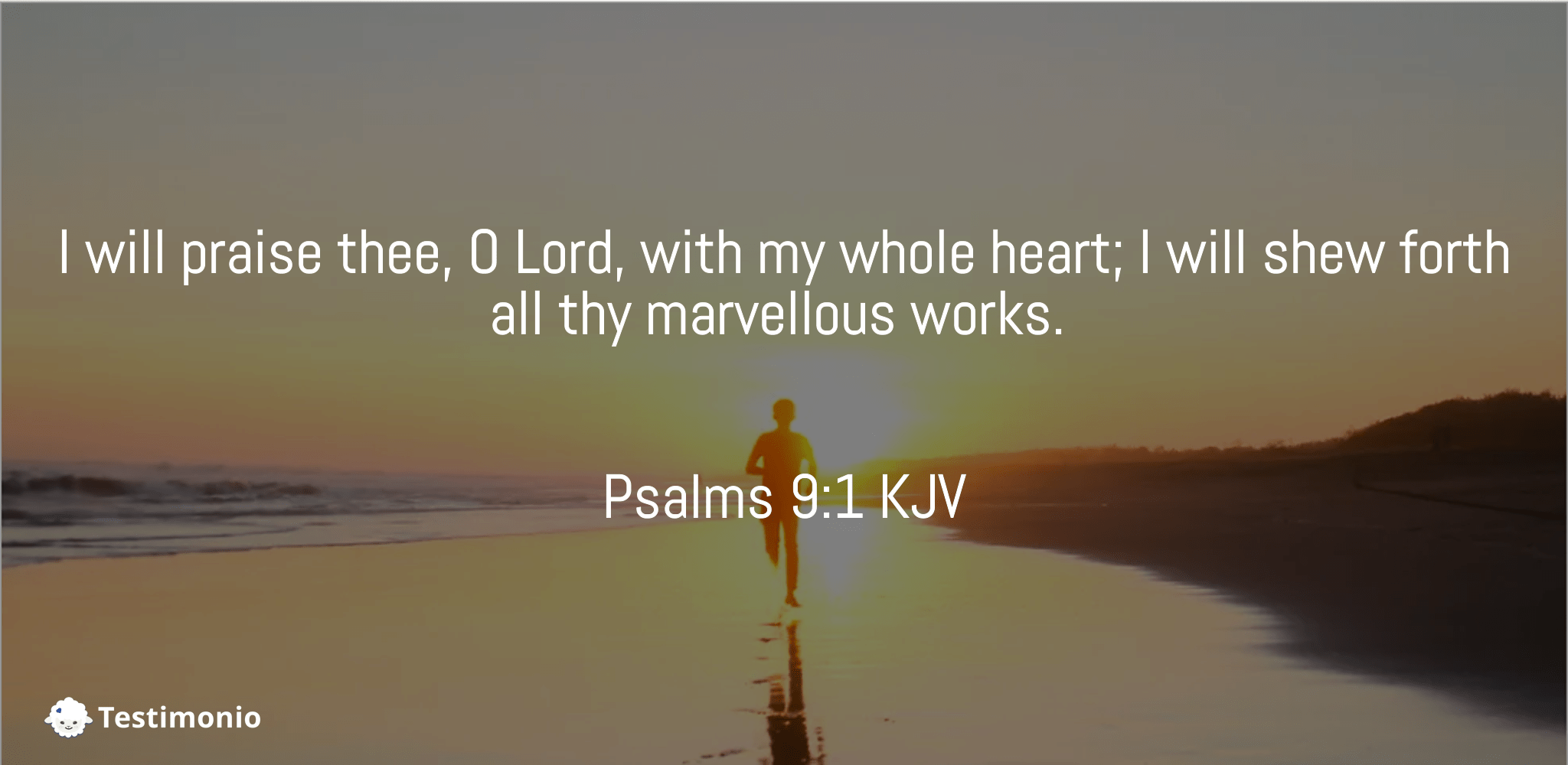 Psalms 9:1