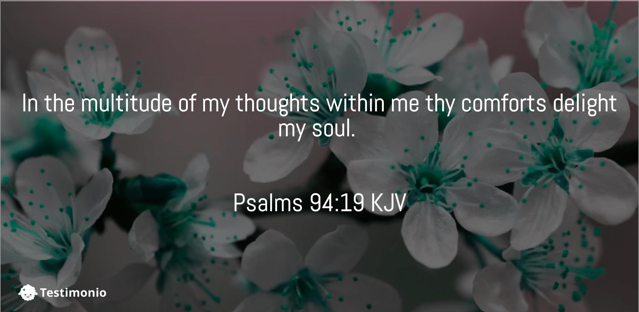 Psalms 94:19