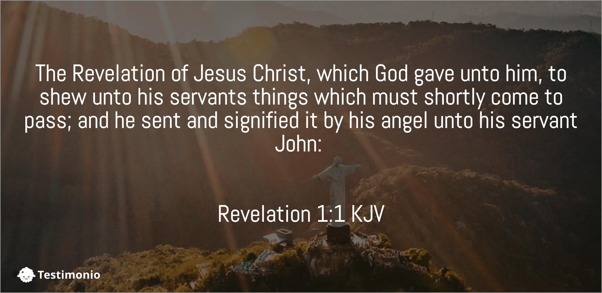 Revelation 1:1