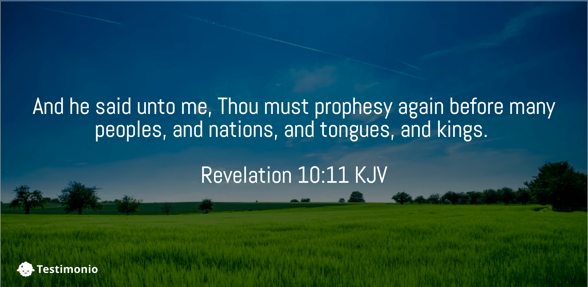 Revelation 10:11