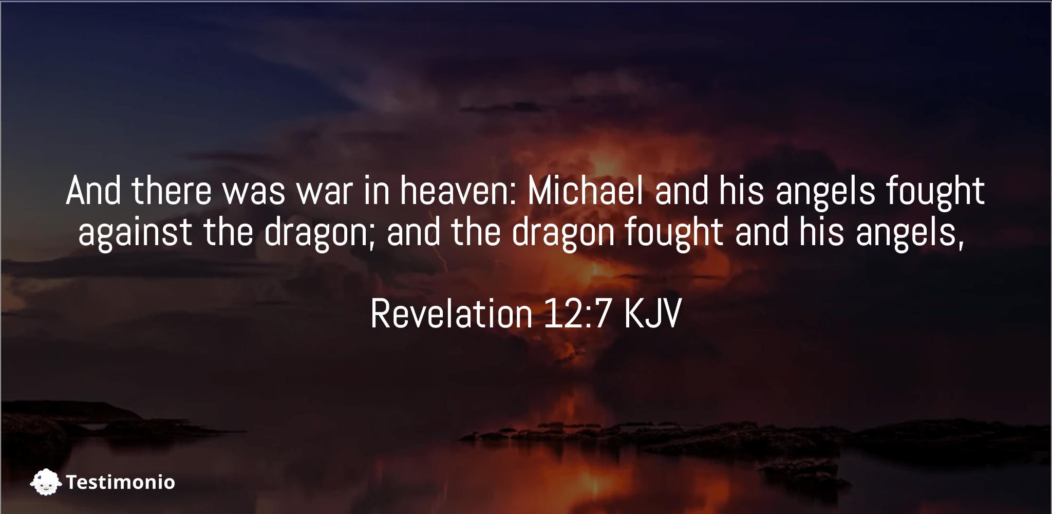 Revelation 12:7
