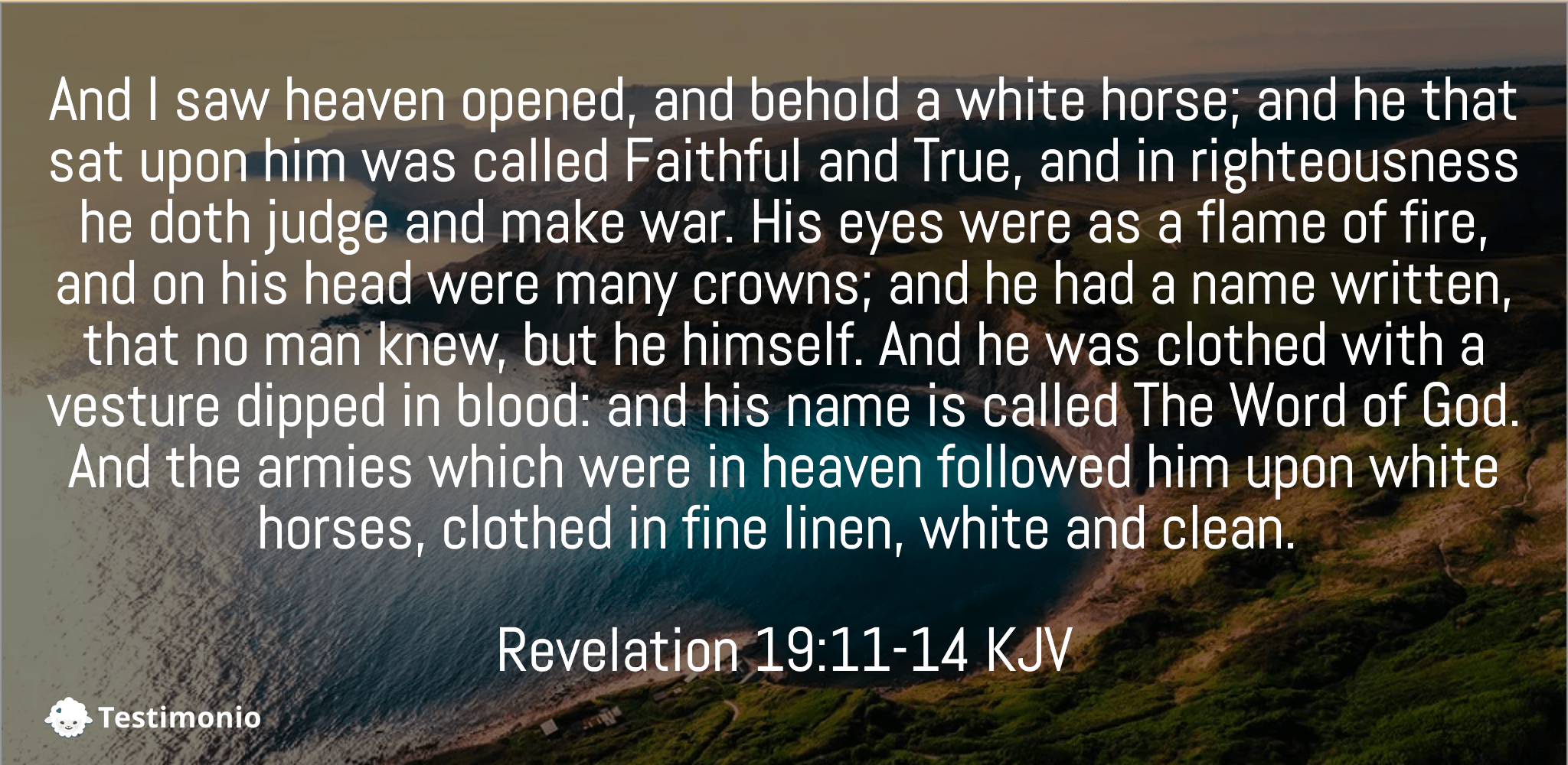 Revelation 19:11-14