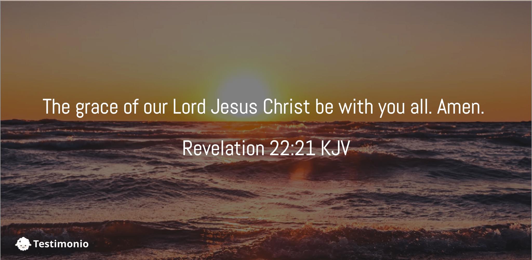 Revelation 22:21