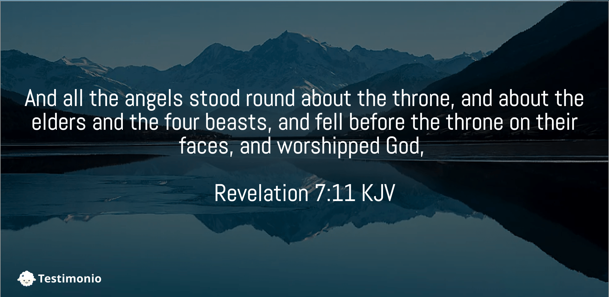 Revelation 7:11