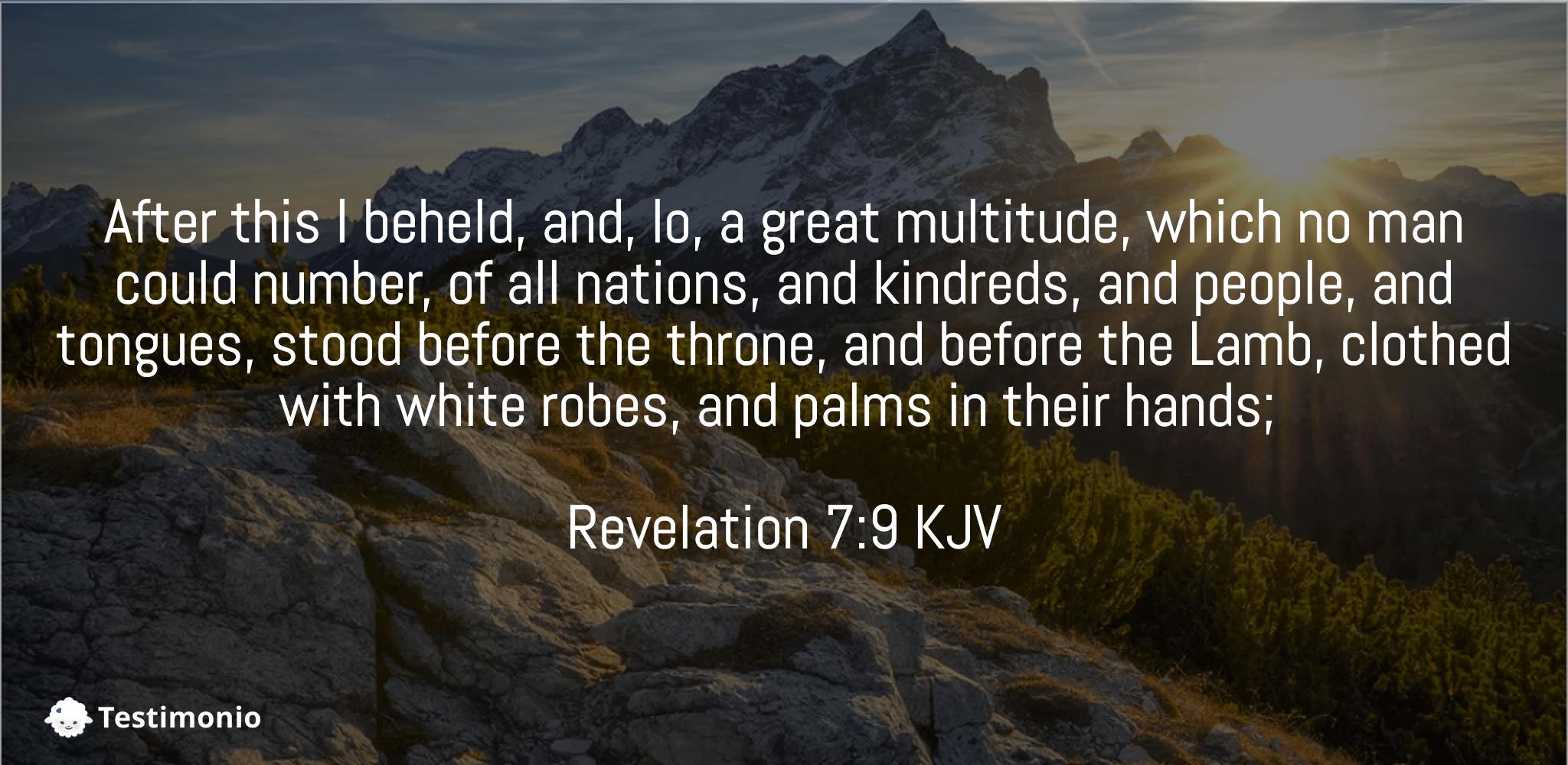 Revelation 7:9