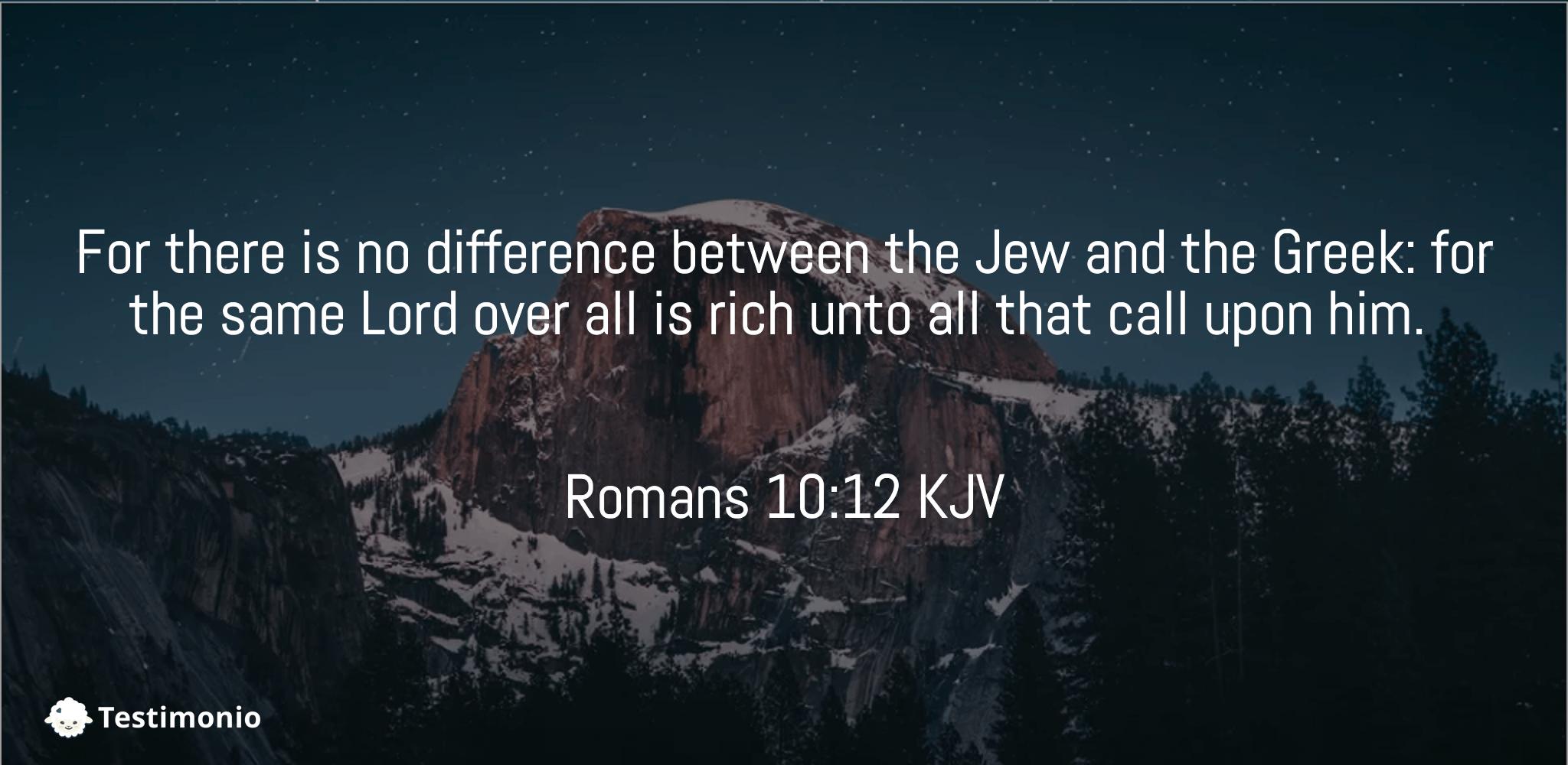 Romans 10:12