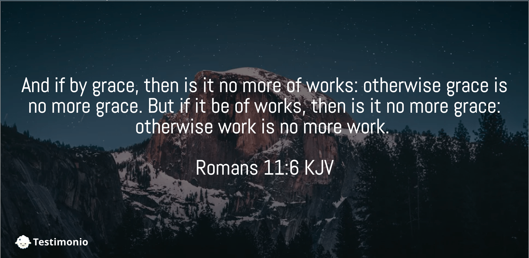 Romans 11:6