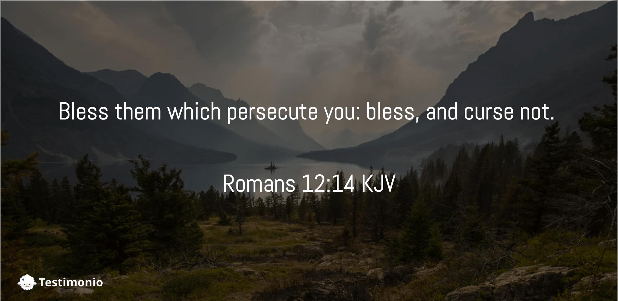 Romans 12:14