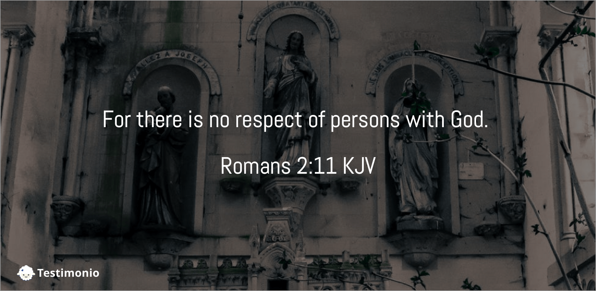 Romans 2:11