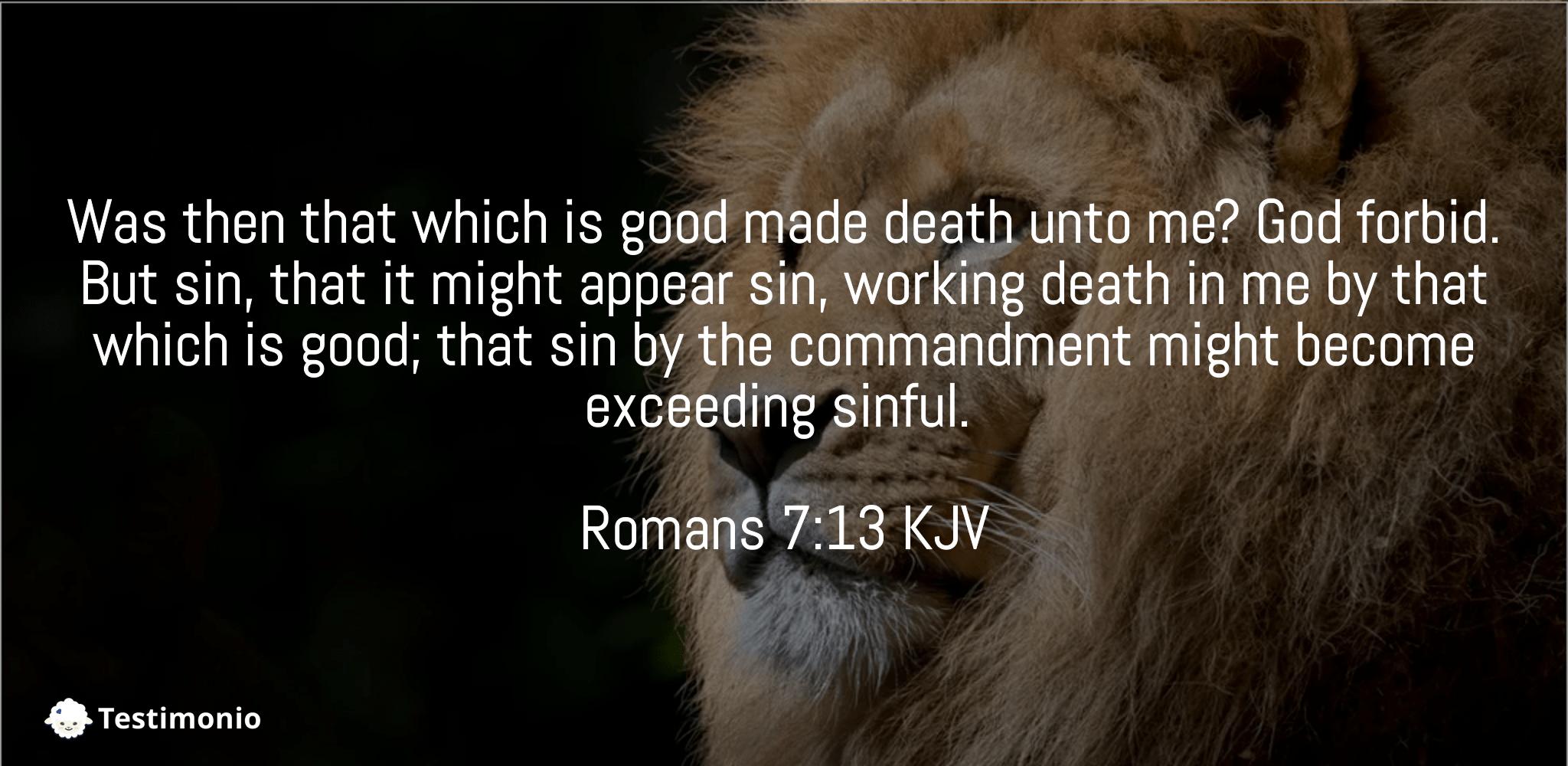 Romans 7:13